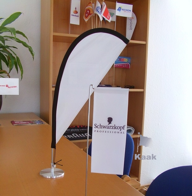 Mini Tafel Beachflag