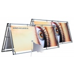 mini frame banner spandoek